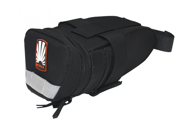 Black Soma Townsend Hemp Seat Bag