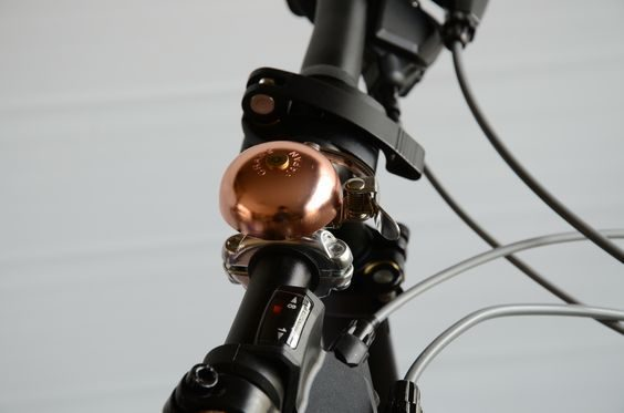 Crane Bell Copper Bike Bell