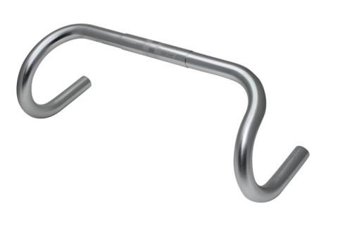Nitto B132AAF Randonneur Bicycle Handlebar //// 42cm //// 25.4mm //// Silver